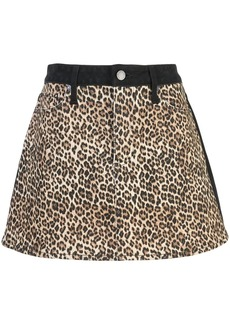 Alice + Olivia Good high rise mini skirt