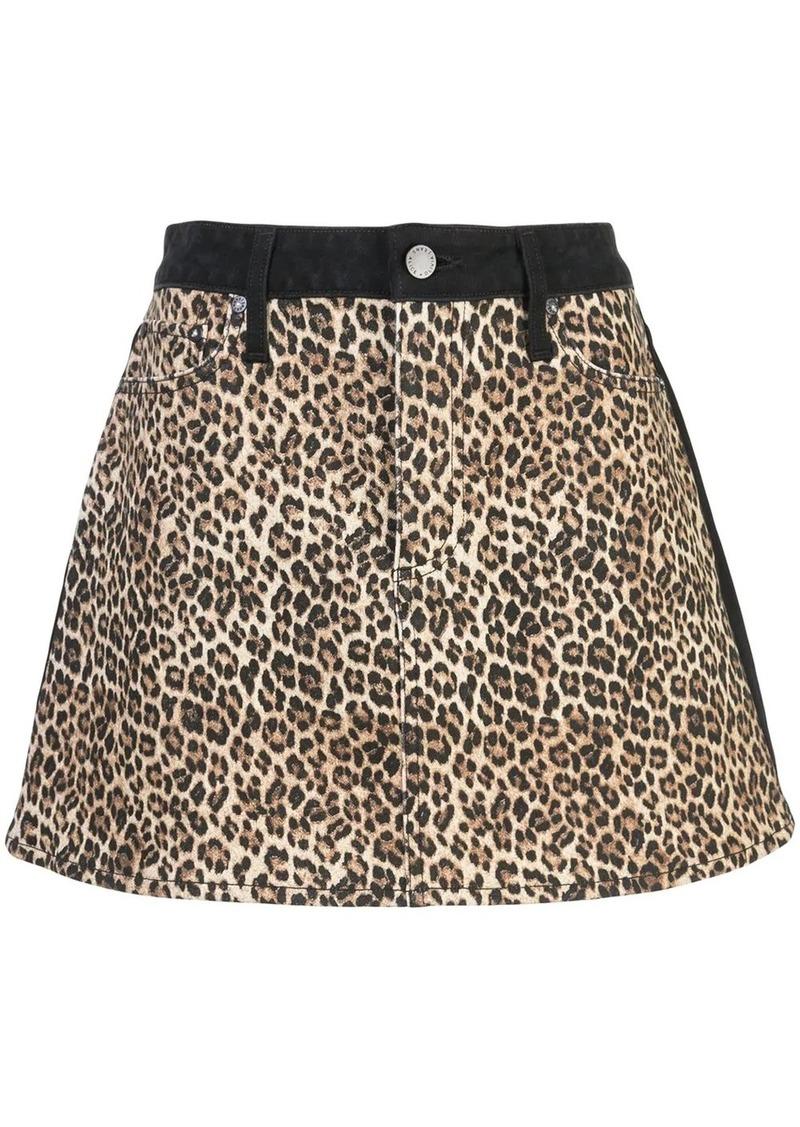Alice + Olivia Good high rise mini skirt