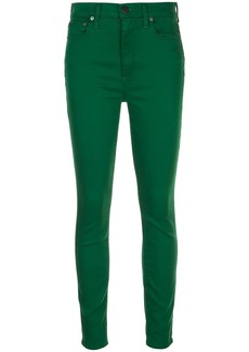 Alice + Olivia Good high rise skinny trousers