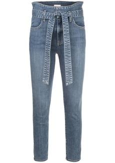 Alice + Olivia Good Wrap high-rise skinny jeans