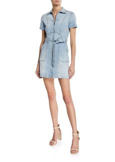 Alice + Olivia Gorgeous Zip-Up Mini Dress
