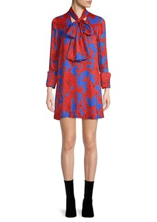 Alice + Olivia Gwenda Printed Tunic Dress