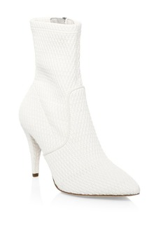 Alice + Olivia Hedde Woven Ankle Boots