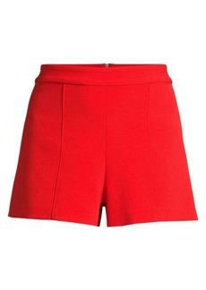 Alice + Olivia Hera High-Waist Seamed Shorts