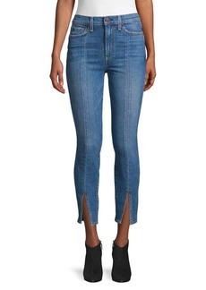 Alice + Olivia High-Rise Skinny Ankle Jeans