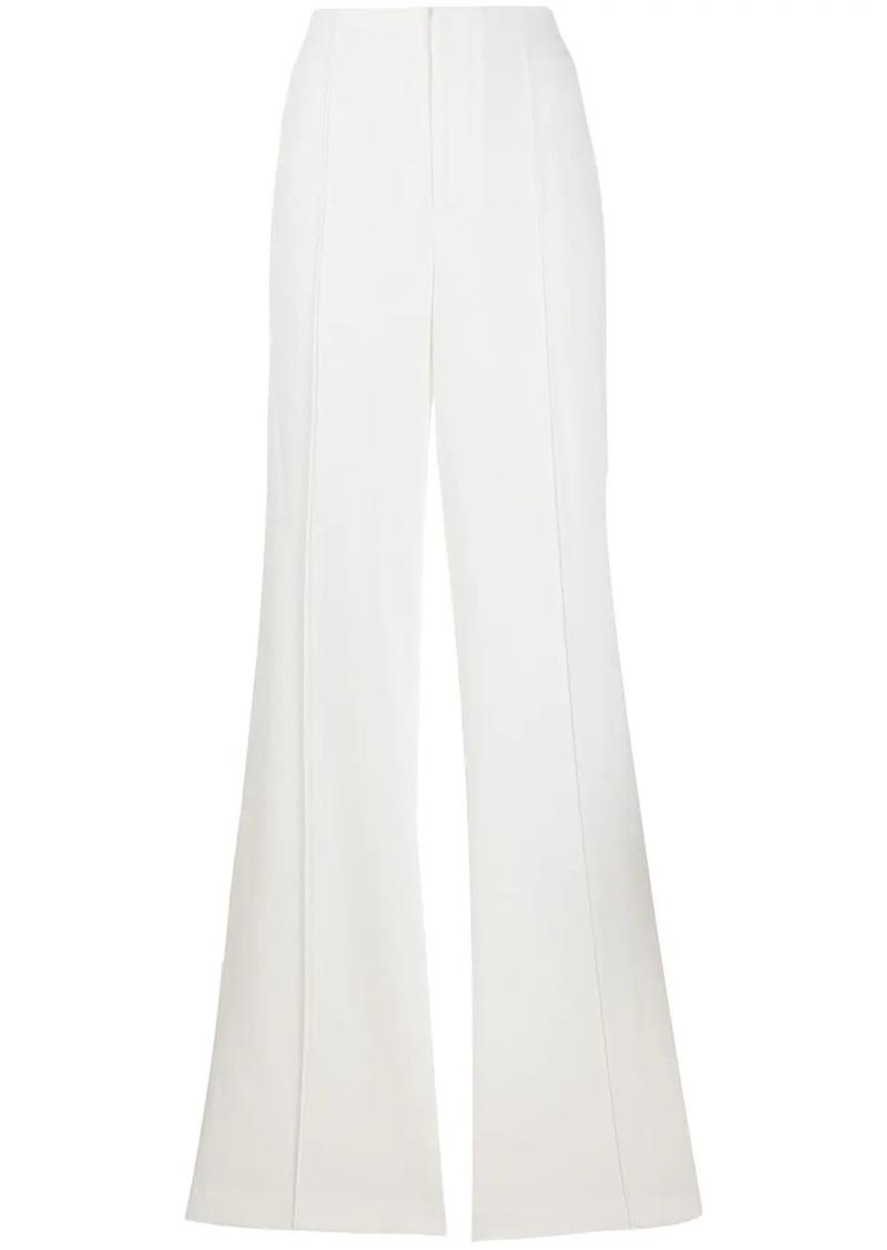 Alice + Olivia high-waist flared trousers