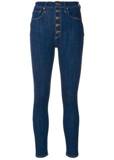 Alice + Olivia high waist skinny jeans