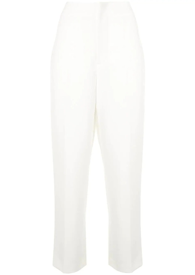 Alice + Olivia high-waisted tapered trousers