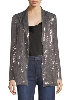 Alice + Olivia Jace Sequin-Embroidered Jacket