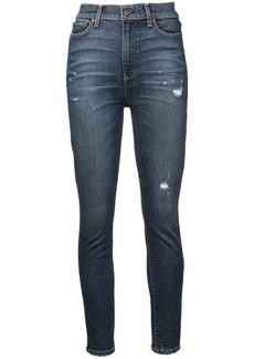 Alice + Olivia Jalisa distressed skinny jeans