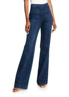 Alice + Olivia Jalisa High-Rise Trouser Pants
