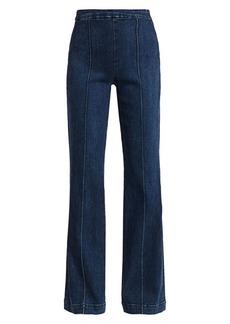 Alice + Olivia Jalisa High-Rise Wide-Leg Jeans