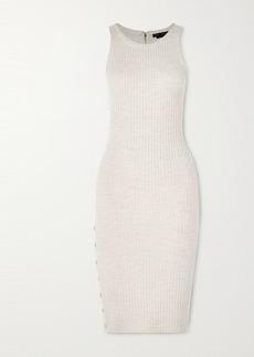 Alice + Olivia Jenner Wool-blend Midi Dress