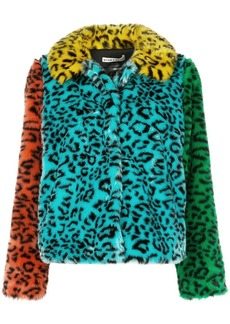 Alice + Olivia Jerrie faux fur coat