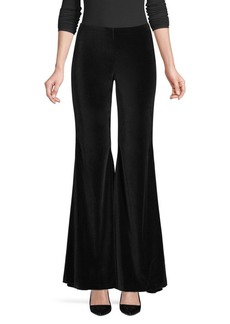 Alice + Olivia Jinny Velvet Flared Pants