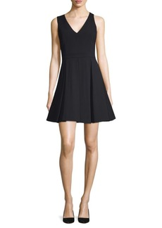 Alice + Olivia Juileta Pleated Dress