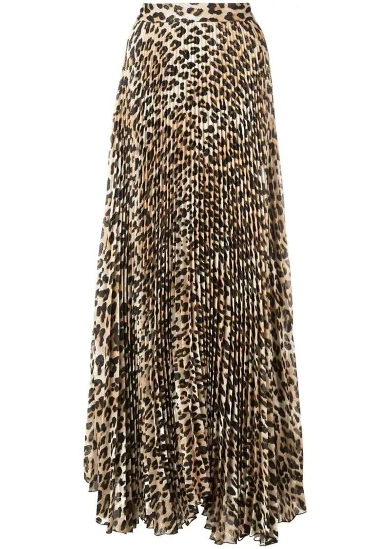 Alice + Olivia Katz maxi pleated skirt