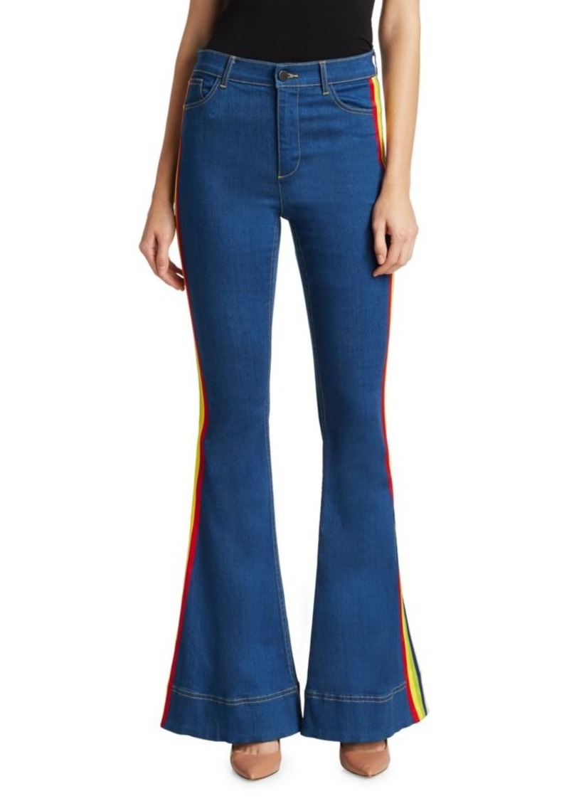 Alice + Olivia Kayleigh Bell Jeans