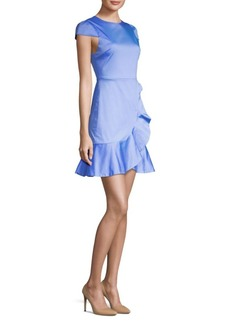 Alice + Olivia Kirby Ruffled Dress