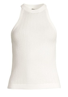Alice + Olivia Knit Halterneck Top