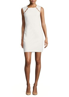 Alice + Olivia Kristiana Embellished Sheath Dress