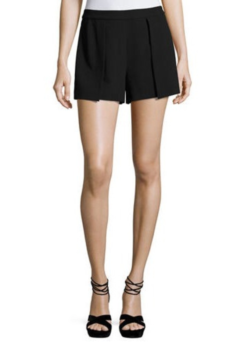 Alice + Olivia Larissa Single-Pleat Shorts