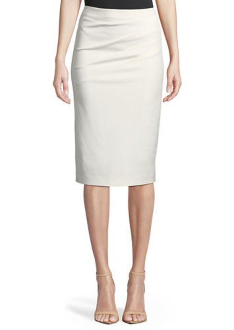 Alice + Olivia Lavana Pleated Pencil Skirt