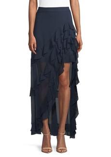 Lavera Asymmetrical Layered Skirt