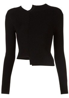 Alice + Olivia Lebell deconstructed jumper