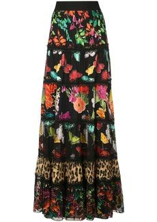 Alice + Olivia Lesa printed maxi skirt