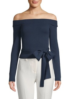 Alice + Olivia Lilian Off-The-Shoulder Top