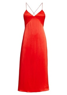Alice + Olivia Loraine Midi Slip Dress