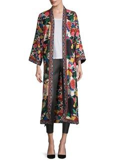 Alice + Olivia Lynn Floral Kimono