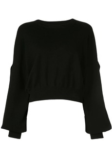 Alice + Olivia Maire cropped jumper