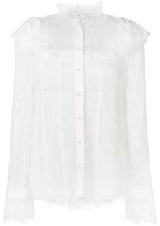 Alice + Olivia Malinda lace blouse