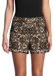 Alice + Olivia Marisa Lace Shorts