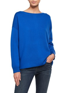 Alice + Olivia Marmont Back-Zip Tunic  Sweater