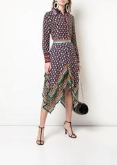 Alice + Olivia Maura print-mix skirt
