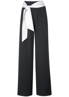 Alice + Olivia Merena tie waist trousers