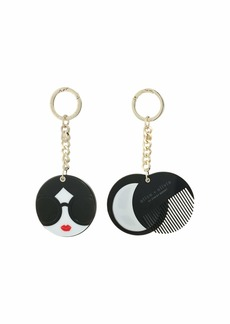 Alice + Olivia Mirror Comb Key Charm