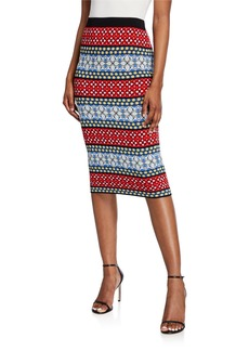 Alice + Olivia Morena Pencil Skirt