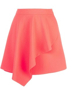 Alice + Olivia Nicky draped mini skirt