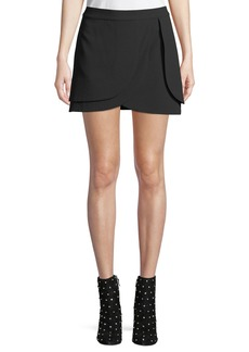 Alice + Olivia Nicolina Layered Tulip Mini Skirt