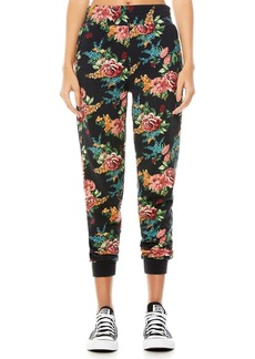 Alice + Olivia NYC Slim-Fit Floral Joggers