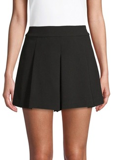 Alice + Olivia Olette Pleated Shorts