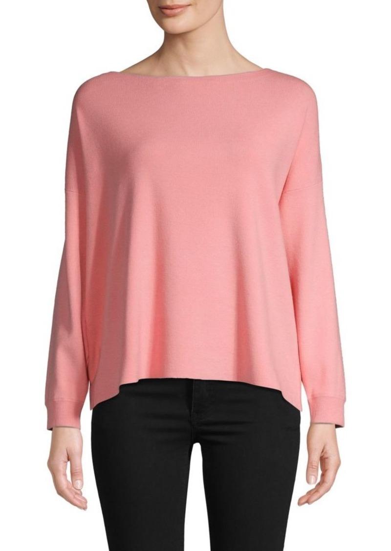 Alice + Olivia Oliva Tie-Back Sweater