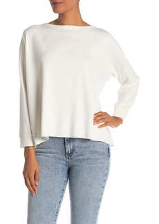 Alice + Olivia Olivia Drop Shoulder Tie Back Sweater