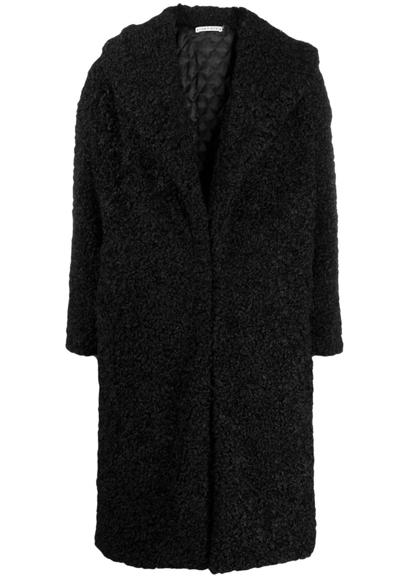Alice + Olivia Ora oversized coat