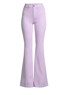Alice + Olivia Orchid High-Rise Flare Jeans