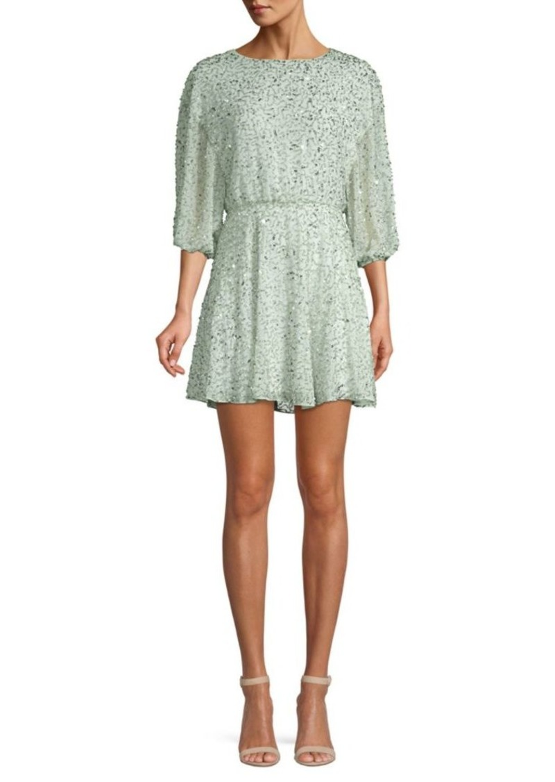 Alice + Olivia Palmira Embellished Dress